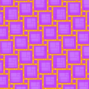 violet abstract grid