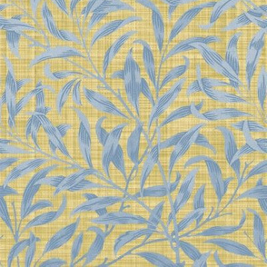 Willow Bough ~  Provence on Trianon Cream Linen Luxe ~ The William Morris Collection
