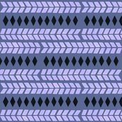 blue tribal