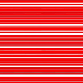 Red and White Stripe for Christmas 2015 Collection