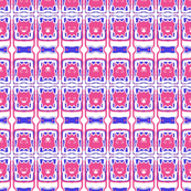 Tiny Pink and Blue Tiles