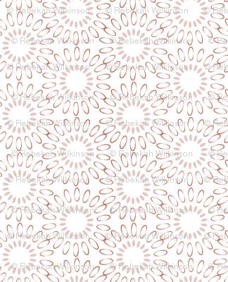Garden tea party fabric bekahwilk spoonflower for Garden party fabric by blackbird designs