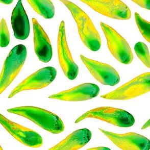 Waterolor Leaves 1