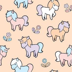 Happy ponies and unicorns