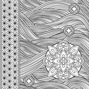 Paint-It Japanese Pattern 1