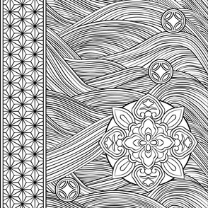 Paint-It Japanese Pattern 1, Small