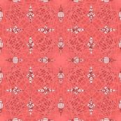 Geometric Lines Design Pink