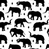 Geo Elephants I - Small