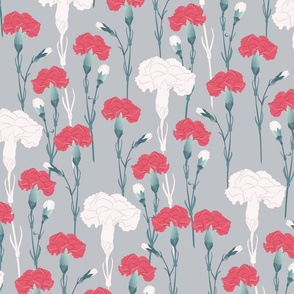 pink_carnation_on_grey