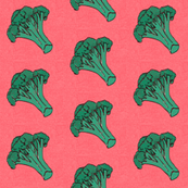 broccoli vegetable kitchen tea towel home decor // swim wear// kids