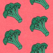love broccoli vegetable kitchen tea towel home decor