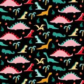 Dinomates on Black