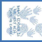 Blue My Nana Tea Towel