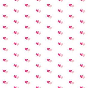 Pinkn Hearts W