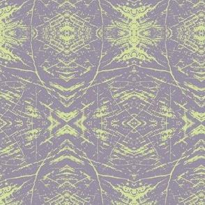 Tree Rings (Lavender & Lime)