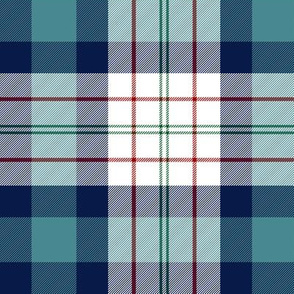 Ferguson dress tartan, teal