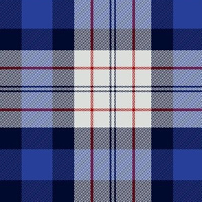 Ferguson dress tartan, blue