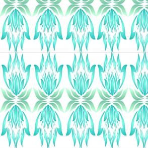 Coastal Lotus Deco Fabric