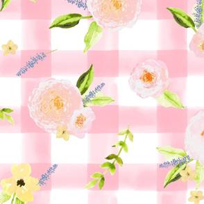 Summer floral / Pink
