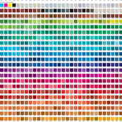 Pantone Process Uncoated converted toRGB