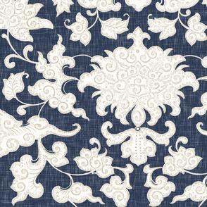 Persia // Navy Linen