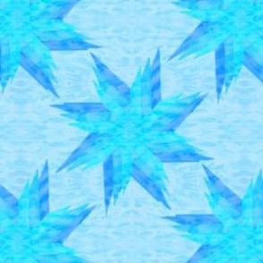 Layered Star Aqua
