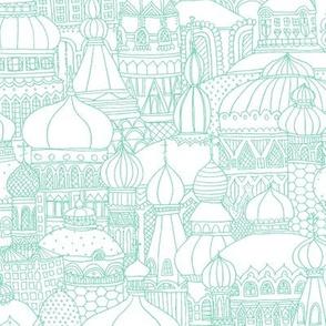 Delightful Domes - Mint
