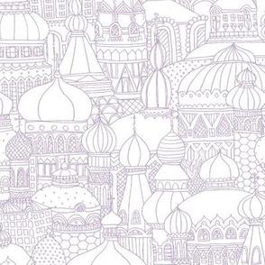 Delightful Domes - Mauve
