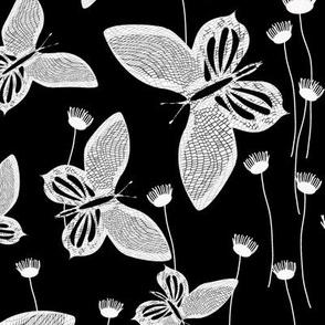 Butterflies Dance (Black)