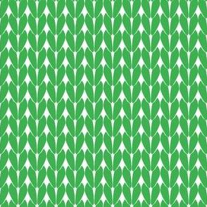 Knit Stitches - Green- Knitter's Kitchen