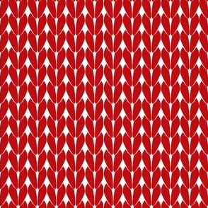 Knit Stitches - Red - Knitter's Kitchen