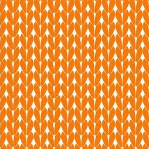 Knit Stitches - Orange - Knitter's Kitchen