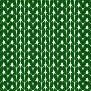 Knit Stitches - Dark Green- Knitter's Kitchen