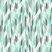Mint Dream   Chevron