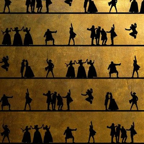Hamilton-inspired silhouettes