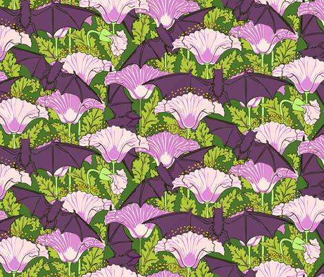 Blooming bats