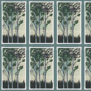 Painted Trees photo corner