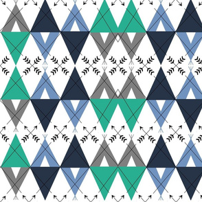 Tribal Argyle