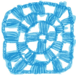 Granny Squares (blue)