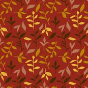Tea Leaf Scatter (rust)