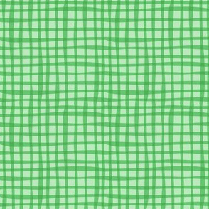 BZB perfect gingham greenbean