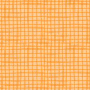 BZB perfect gingham orange