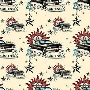 Supernatural Inspired Baby 67 Impala Tattoo