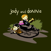 Jody and Donna Supernatural Cartoon