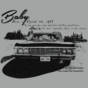 Supernatural Baby Impala Words