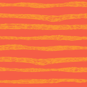 BZB Stripe Orange combo
