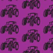 Tractors purple/black-ch-ch-ch