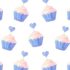 It's teatime - cupcakes