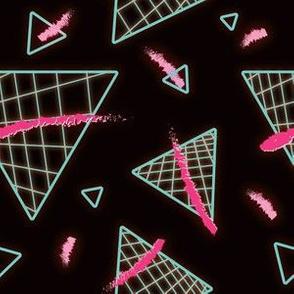 Postmodern Neon 80s Lights No.4