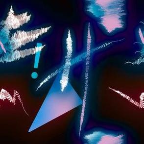 Postmodern Neon 80s Lights No.2